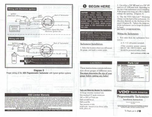 small resolution of wrg 3124 vdo tachometer with hour meter wiring diagram vdo tach gen wiring diagram
