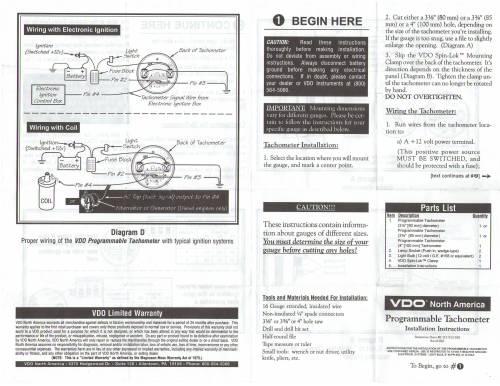 small resolution of vdo programmable tachometer 1 thesamba com vdo programmable tachometer instructions vdo tachometer wiring diagram at cita vdo tach wiring electric
