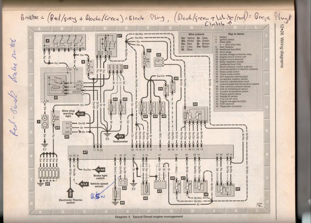 medium resolution of audi ael aat a6 100 2 5tdi wiring diagram