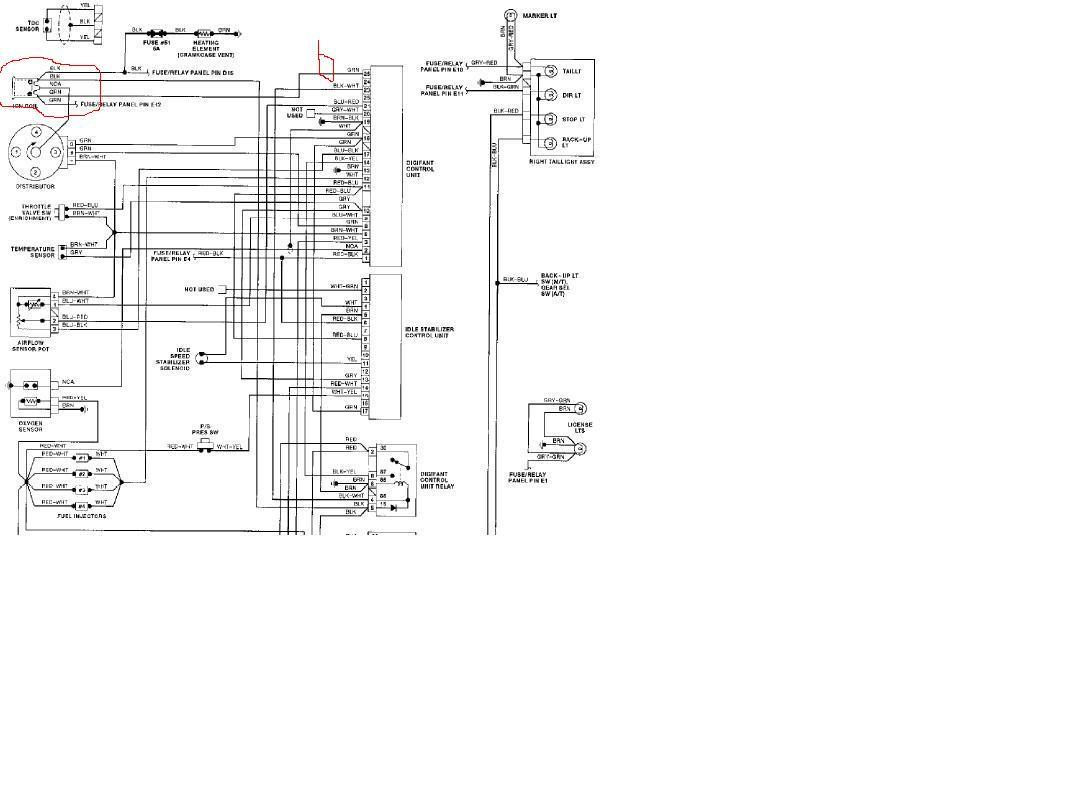 Wiring Diagram Beetle Compleat Idiot 1600 VW Technical