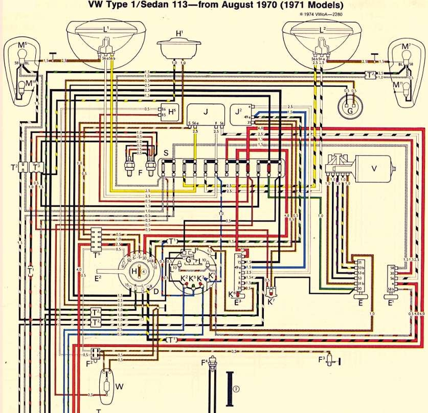 model a horn wiring diagram male reproductive system unlabeled thesamba.com :: beetle - late model/super 1968-up view topic need help driver's ...