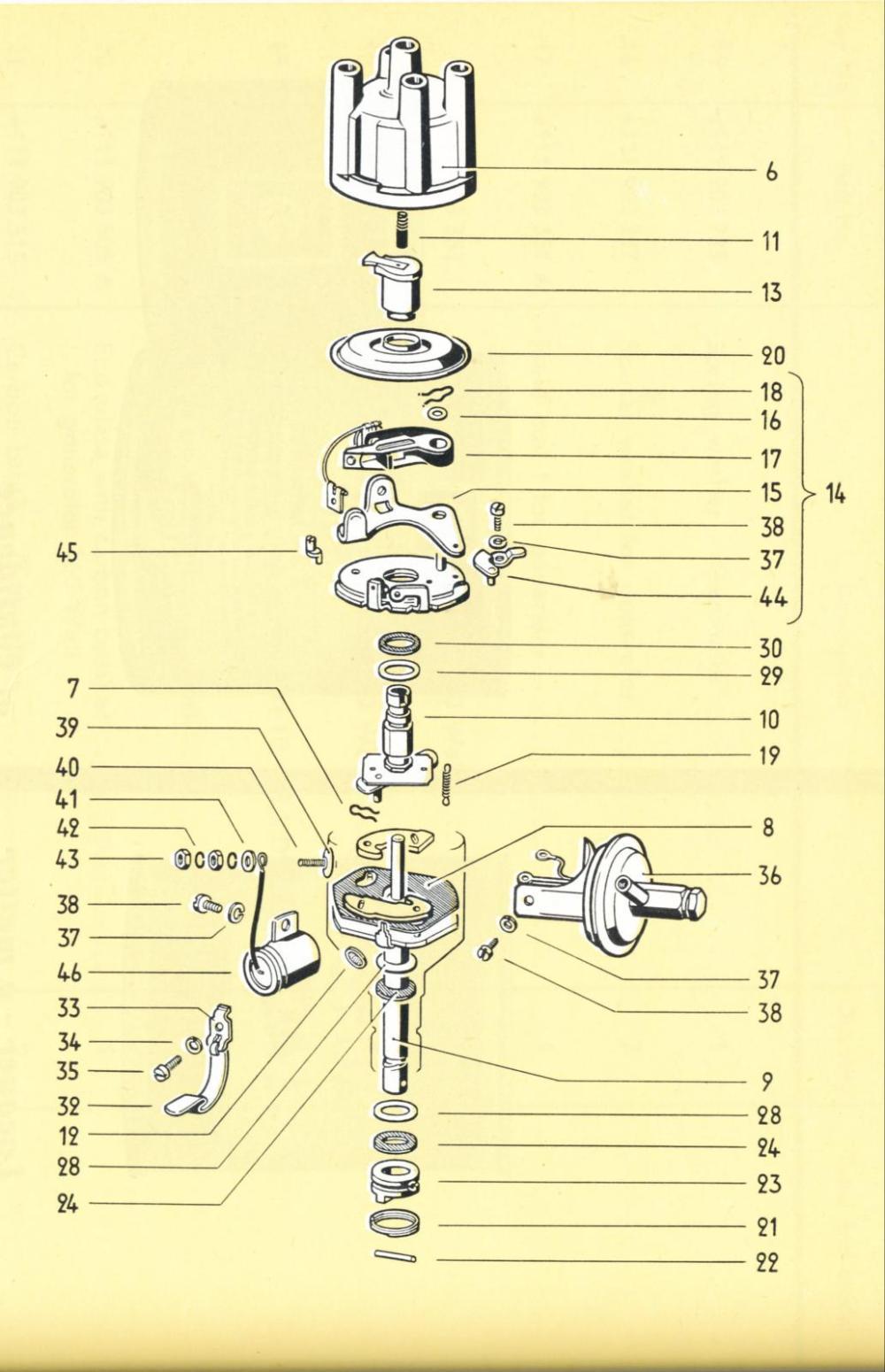 medium resolution of vw distributor diagram wiring diagram third level electronic ignition diagram of a vw beetle vw distributor diagram