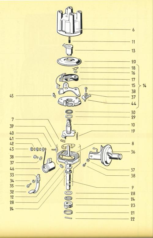 small resolution of vw distributor diagram wiring diagram third level electronic ignition diagram of a vw beetle vw distributor diagram
