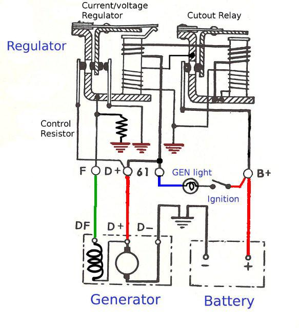 Voltage Regulator Wiring Schematic