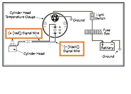 vdo volt gauge wiring