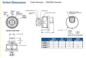 Cole Hersee Ignition Switch Wiring Diagram  Somurich