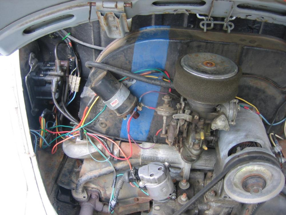 medium resolution of vw bug electronic ignition wiring 33 wiring diagram 6 volt vw regulator wiring 1969 vw bug