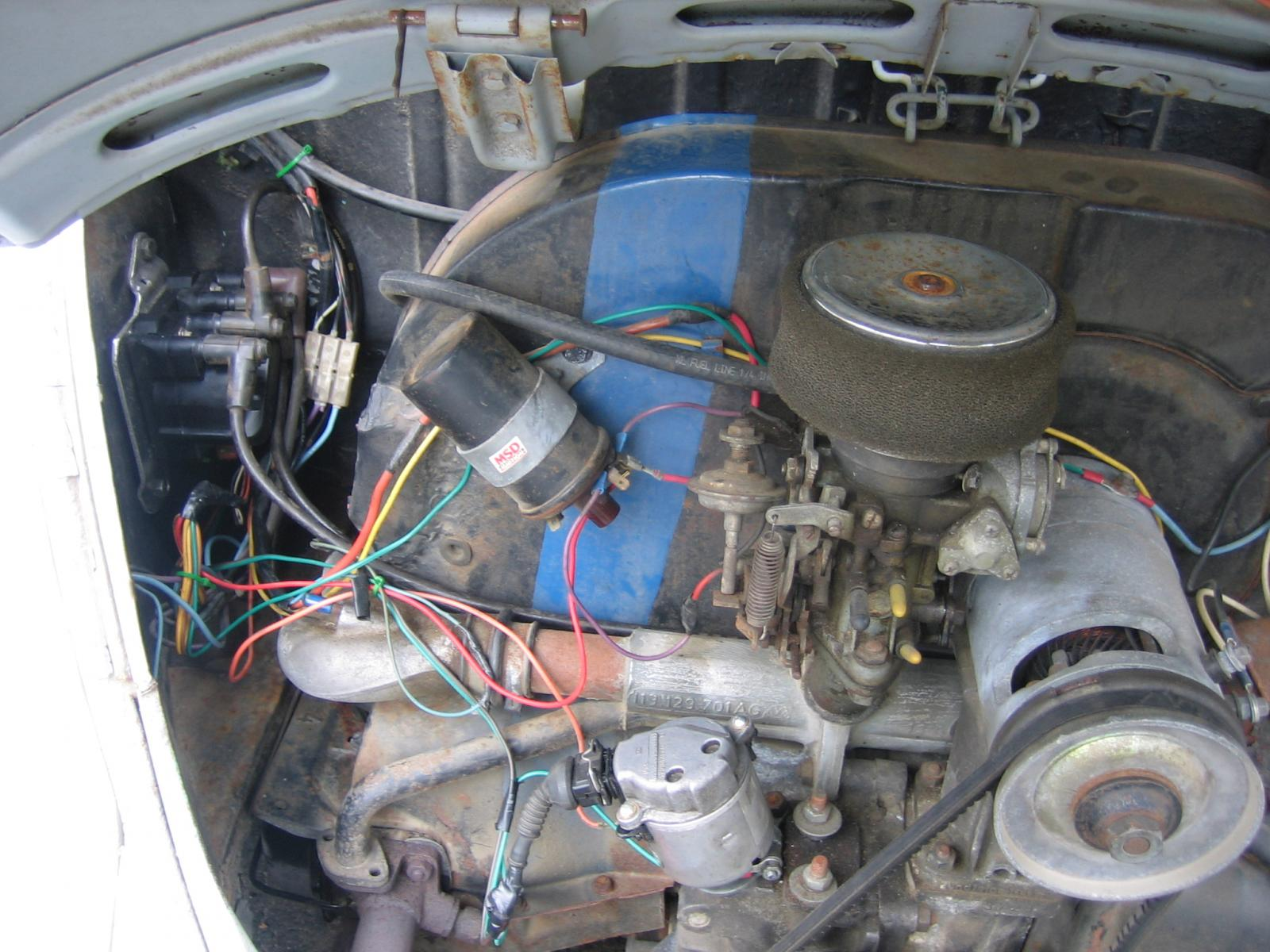 hight resolution of vw bug electronic ignition wiring 33 wiring diagram 6 volt vw regulator wiring 1969 vw bug