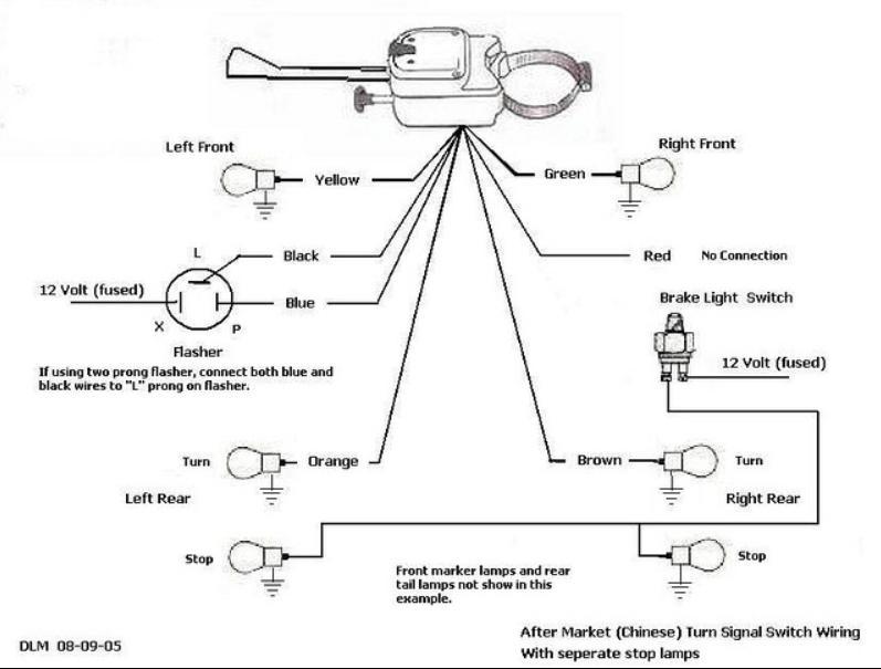 Turn Signal Flasher Wiring Diagram Library of Wiring Diagram