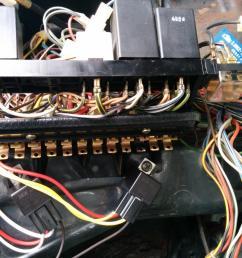 84 vw fuse box [ 1600 x 1200 Pixel ]