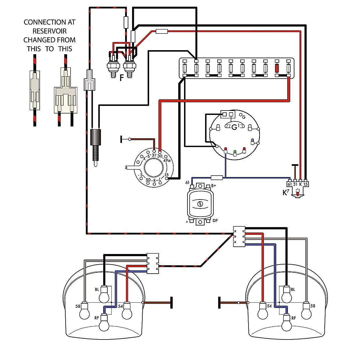 vw beetle charging system wiring diagram harley davidson motorcycle parts volkswagen thing get free