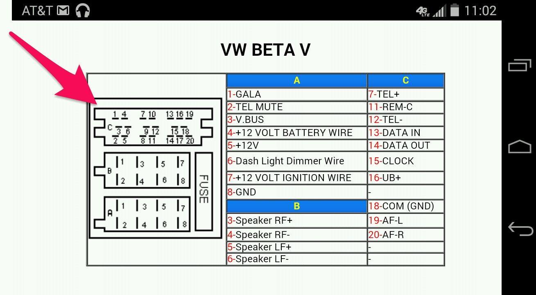 vw passat stereo wiring diagram efcaviation com vw radio wiring color code  vw audio wiring diagram