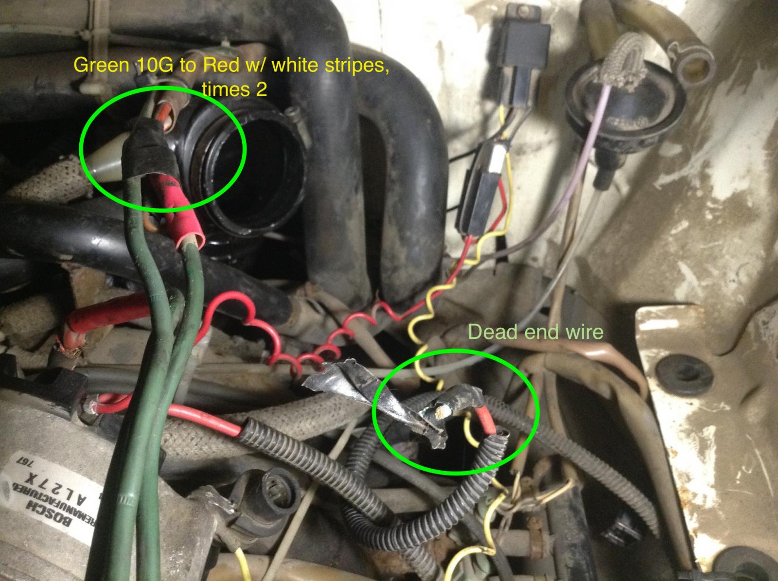 Wire Alternator Wiring Diagram Further 1990 Vanagon Alternator Wiring