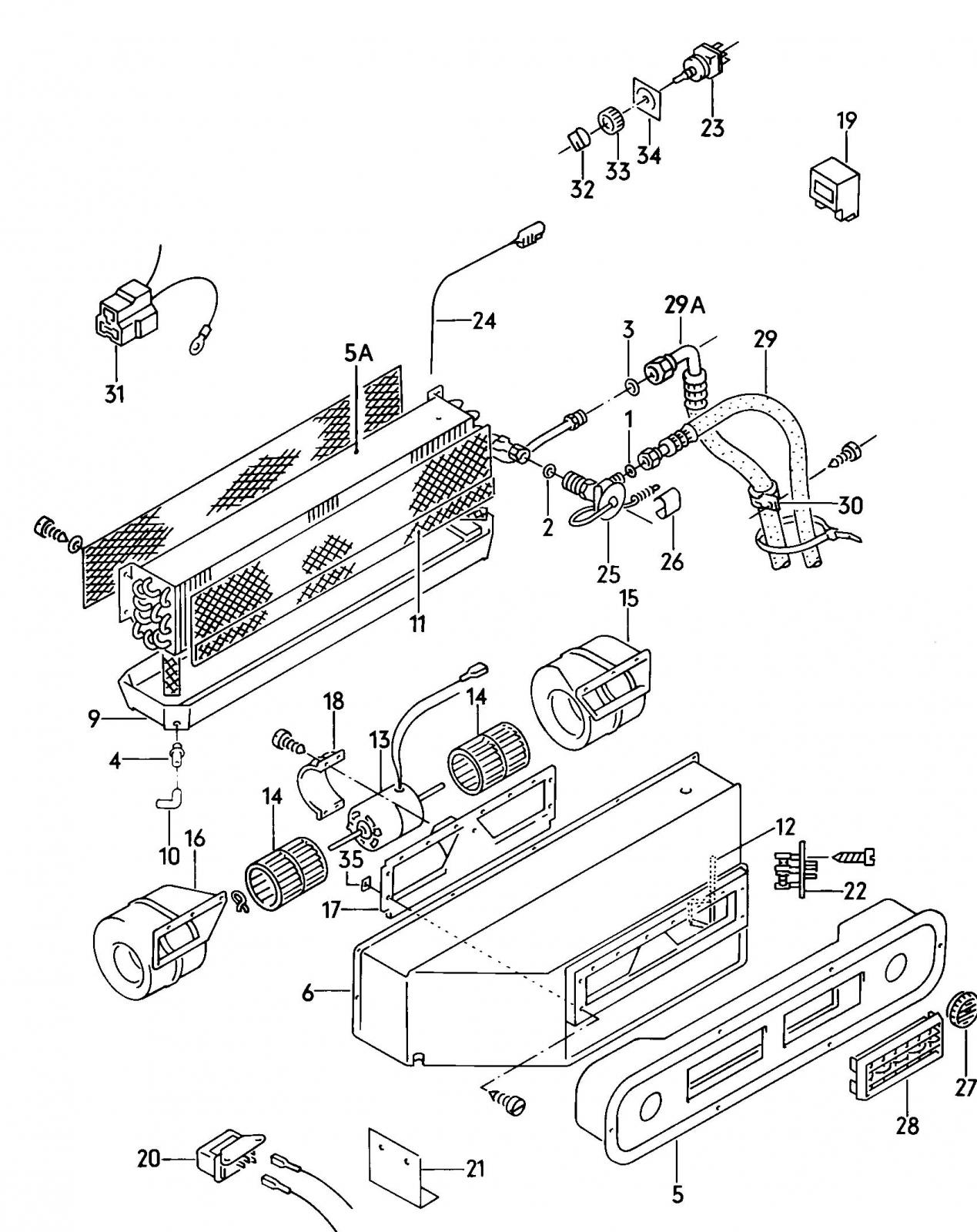 [WRG-9303] Vanagon Ac Wiring Diagram