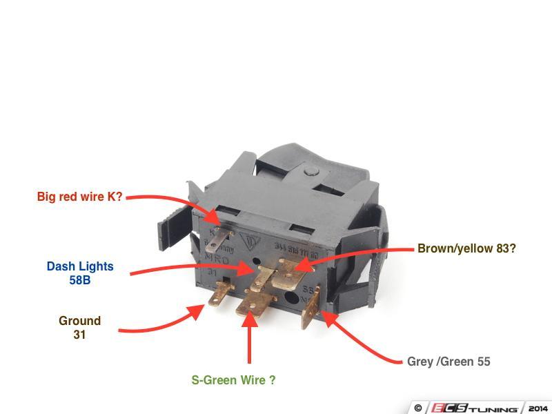 Light Switch Wiring Diagram Vanagon