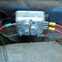 Vw Voltage Regulator Wiring Diagram 7 Blade Plug 1974 Ford 1958 Thunderbird