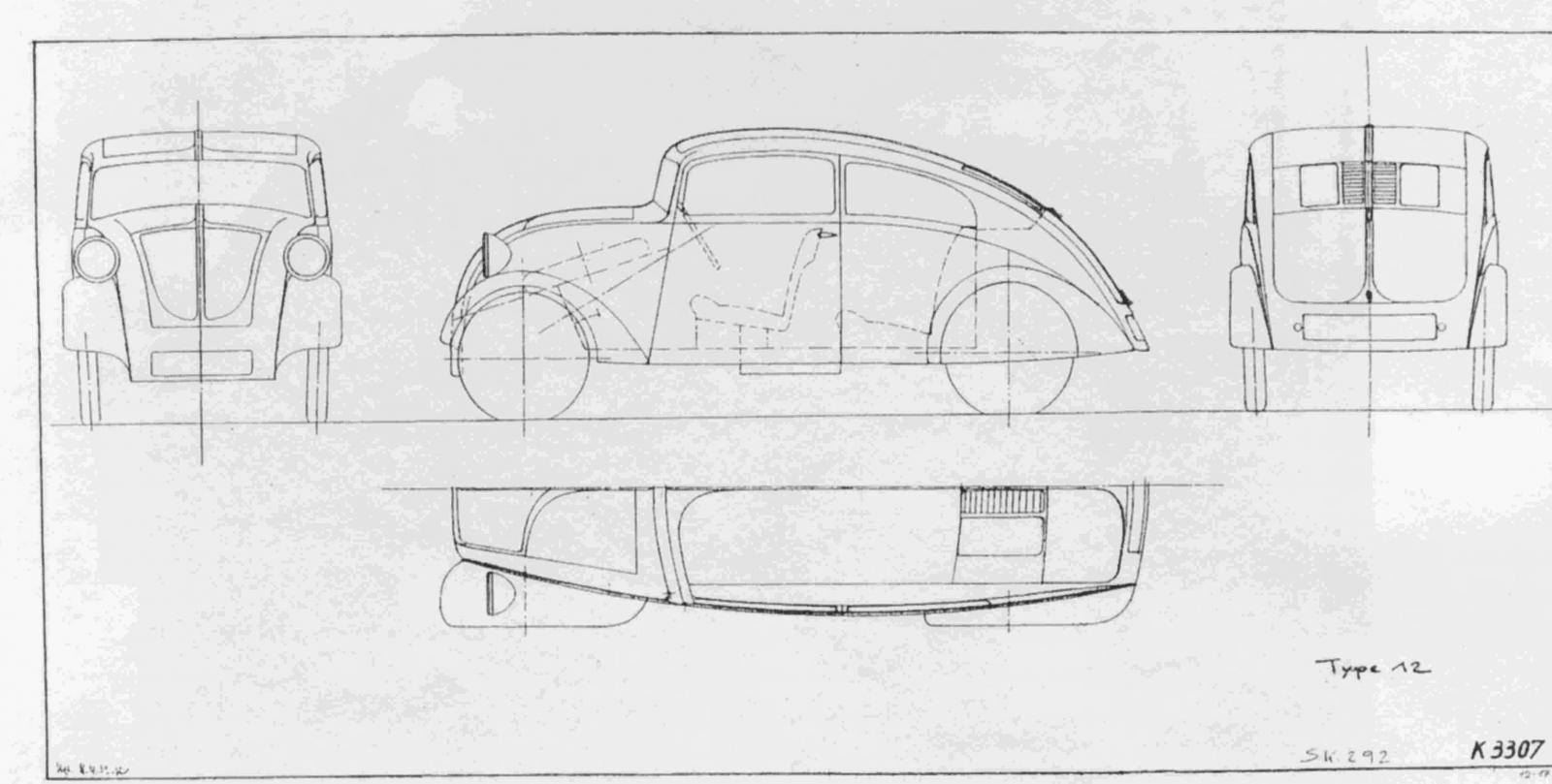 tatra 97 engine diagram