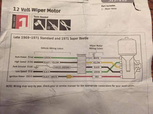 small resolution of thesamba com beetle late model super 1968 up view topic 68 camaro windshield wiper motor wiring