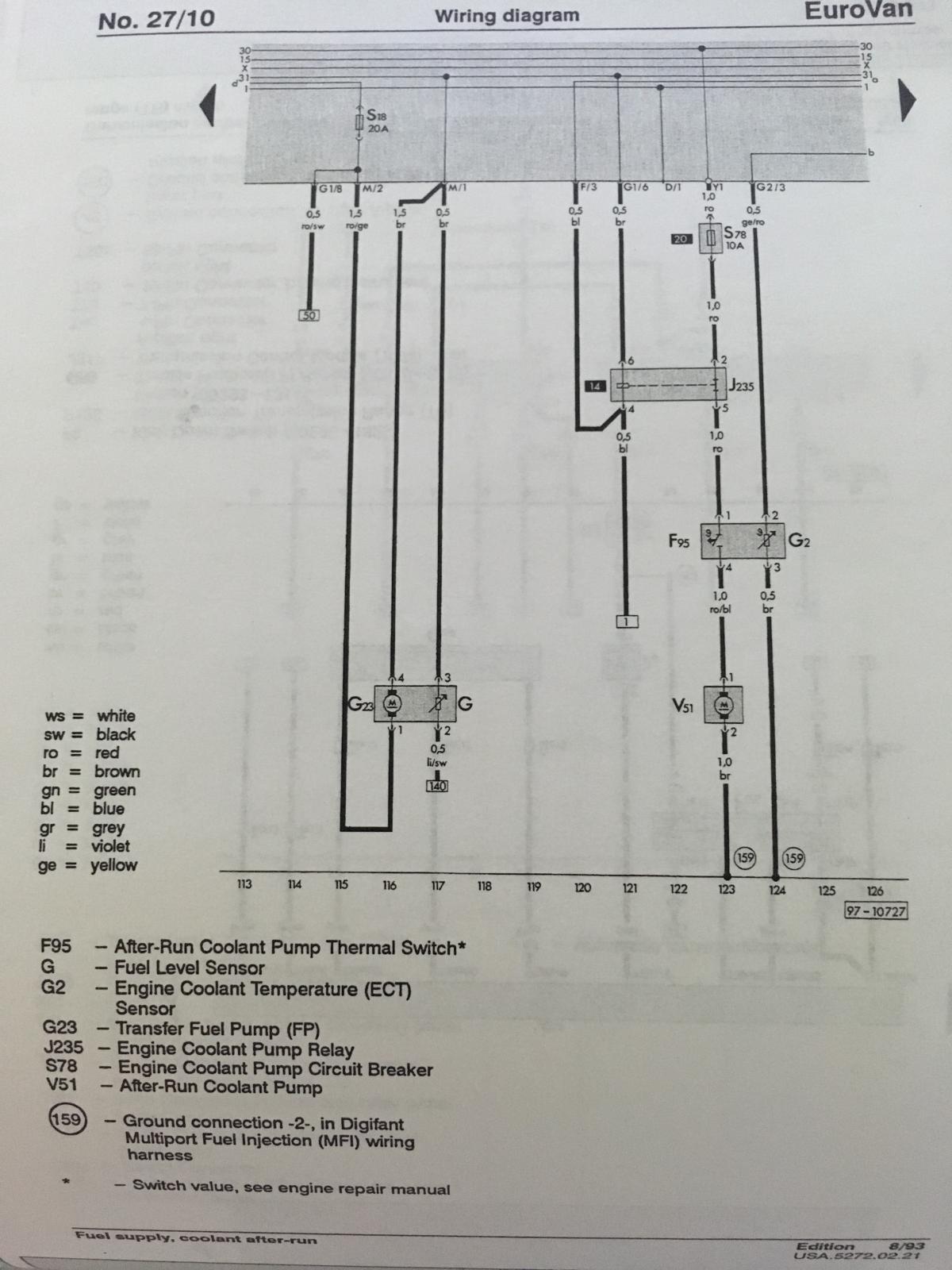 hight resolution of eurovan engine diagram wiring diagram centrethesamba com gallery 93 eurovan after run coolant pump wiring93 eurovan