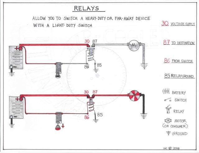 12 Volt Relay Wiring Diagram Http Wwwthesambacom Vw Forum