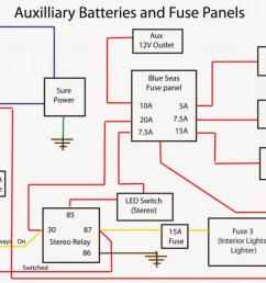 wiring diagram for auxilliary battery bank onboard charger [ 1600 x 587 Pixel ]