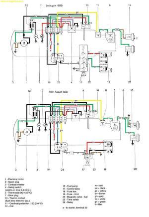[WRG4083] Espar D2 Heater Wiring Diagram