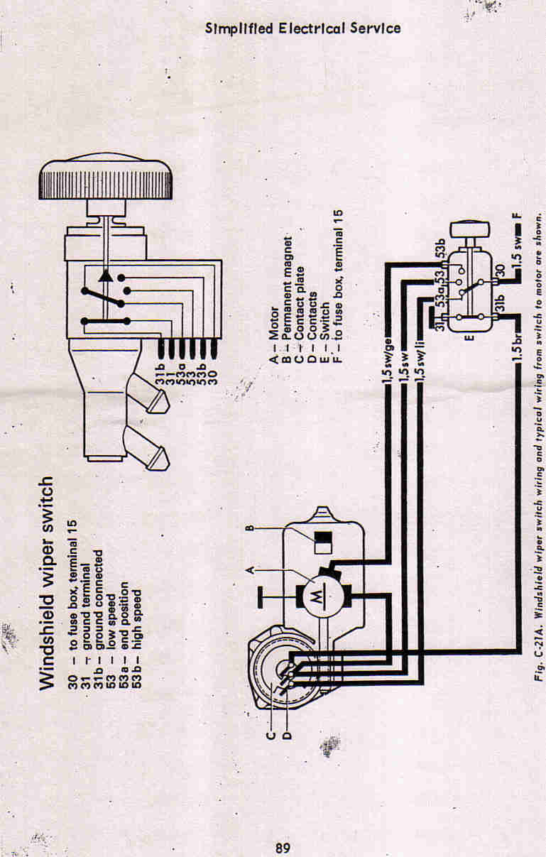 ongaro wiper motor wiring diagram freightliner m2 schematics best library thesamba com beetle 1958 1967 view topic vw thing parts image may have