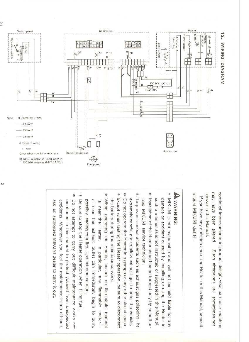 hight resolution of webasto wiring diagram