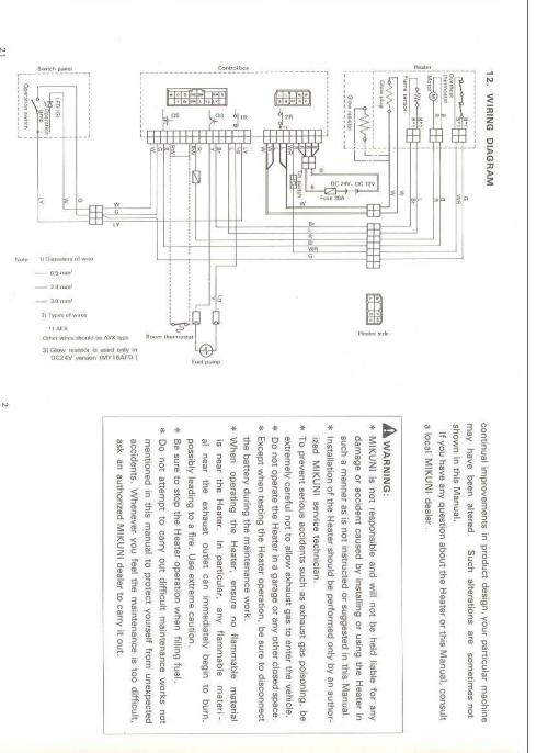 small resolution of webasto wiring diagram
