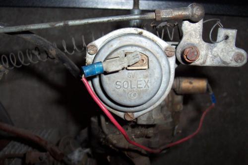 small resolution of vw engine choke wiring wiring diagram updatethesamba com type 3 view topic electric choke question