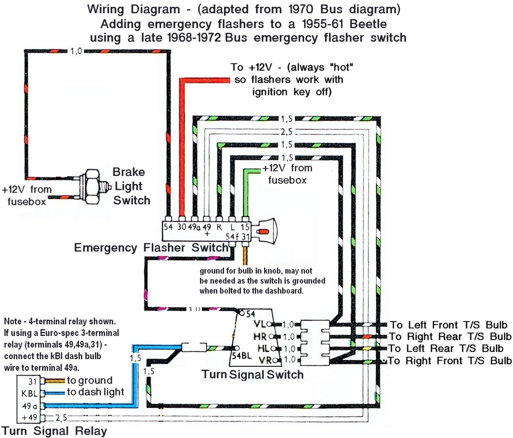67 vw beetle wiring diagram cooling auto thesamba.com :: - 1958-1967 view topic early bug/ late harness