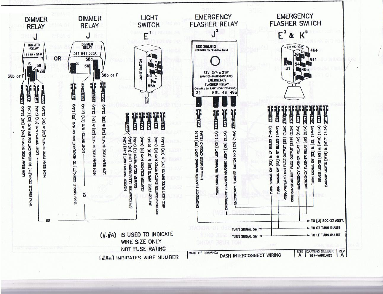 hight resolution of thesamba com thing type 181 view topic how to wire up vw 2000 jaguar fuse box