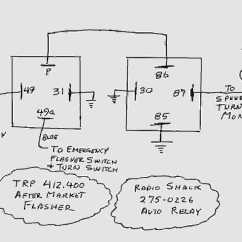 Wiring Diagrams For Relay Lighting 3 Gang Light Switch Diagram Australia Thesamba Ghia View Topic Flasher Compatability