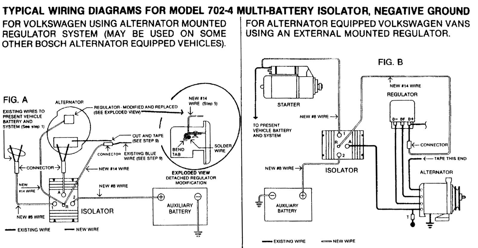 dual battery solenoid isolator wiring diagram car multi 37