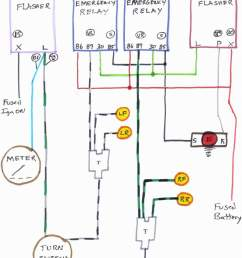 emergency flasher switch wiring diagram 1971 vw bug wiring wiring diagram for emergency flashers [ 1000 x 1208 Pixel ]