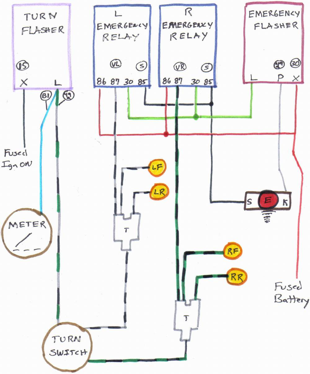 medium resolution of wiring diagram for emergency flashers wiring diagram load wiring diagram for emergency flashers