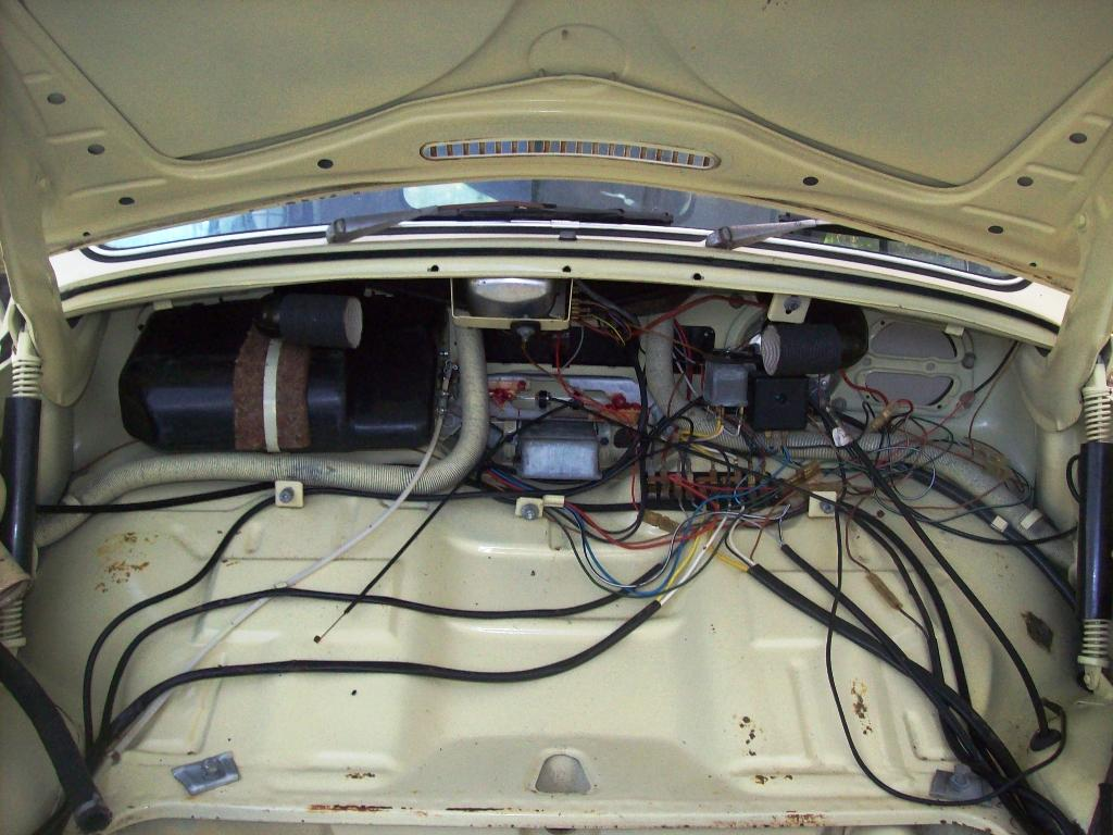 1968 Vw Bug Wiring Diagram Thesamba Com Beetle Late Model Super 1968 Up View
