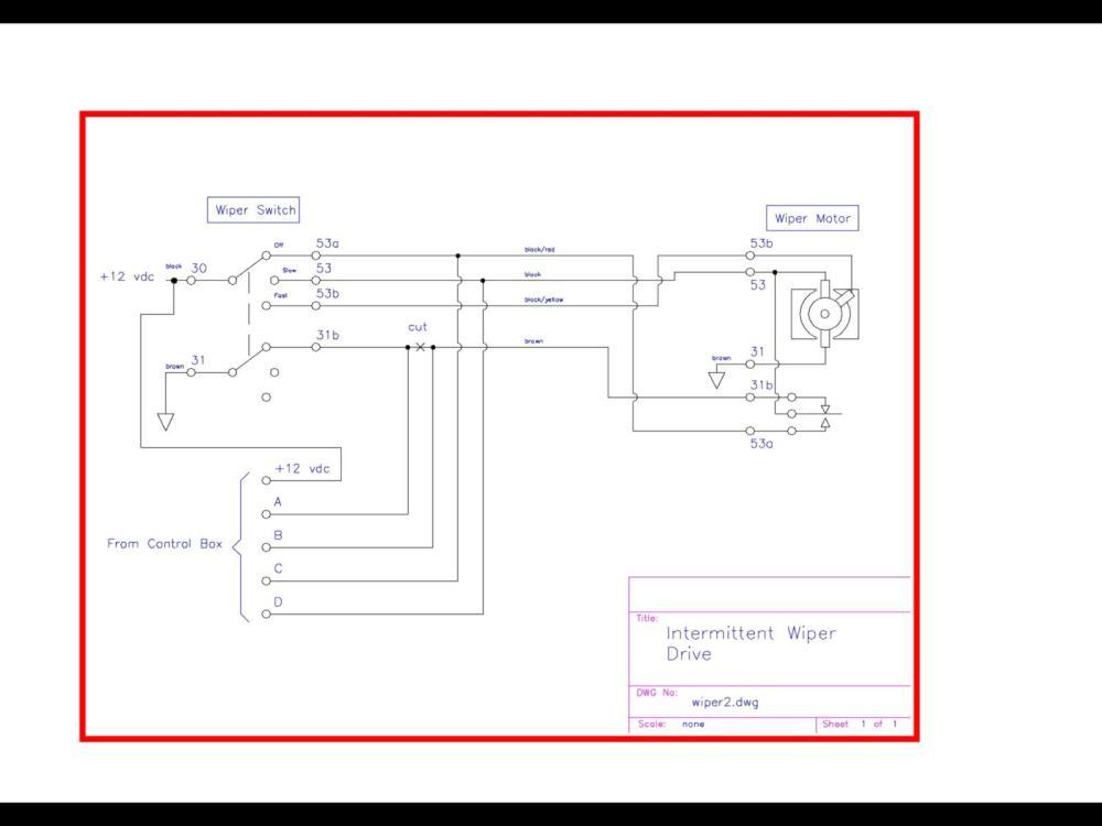 medium resolution of hyundai wiper motor wiring diagram