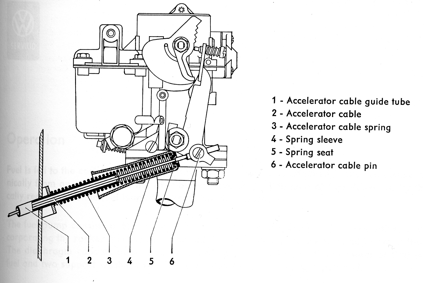 hight resolution of vw carb diagram