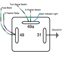flasher relay wiring detailed wiring diagram turn signal wiring schematic 3 prong turn signal flasher wiring [ 1024 x 768 Pixel ]