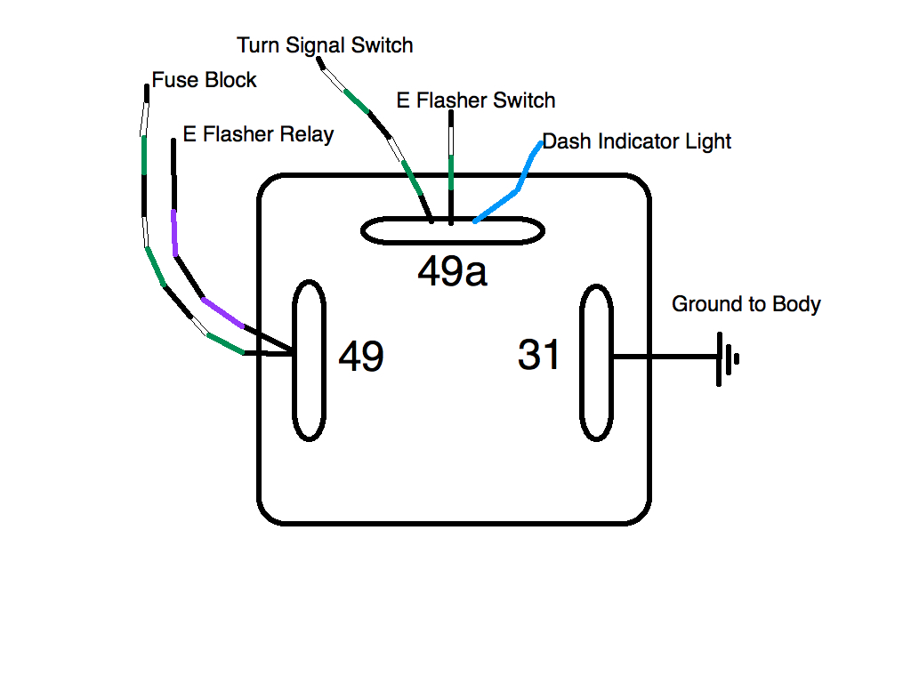 hight resolution of flasher relay wiring wiring diagram db flasher relay wiring book diagram schema led flasher relay wiring