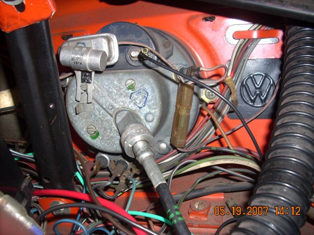 1965 Vw Beetle Headlight Switch Wiring Diagram