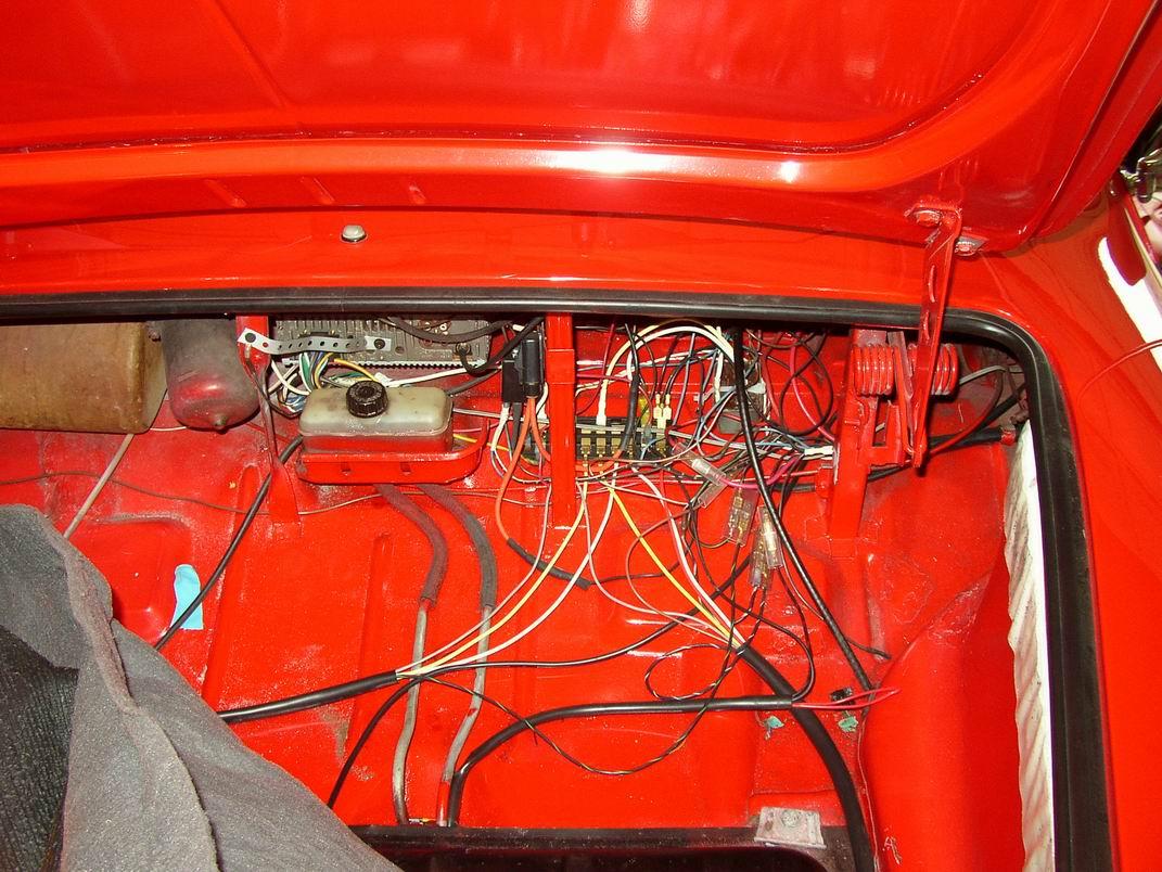 1968 Vw Bug Wiring Diagram Thesamba Com Ghia View Topic 69 Ghia Trunk Wiring