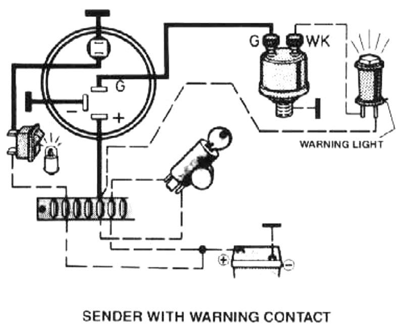 Thesambacom Gallery Vdo Oil Psi Gauge Wiring Diagrams