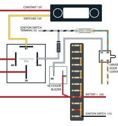 vw cabrio radio wiring wiring library 65 vw wiring diagram 744824 thesamba com beetle late model [ 1200 x 1135 Pixel ]