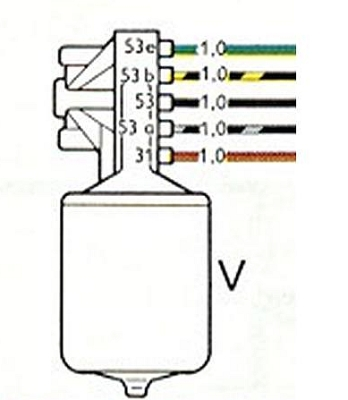 Vw Beetle Wiper Motor Wiring Diagram : 36 Wiring Diagram