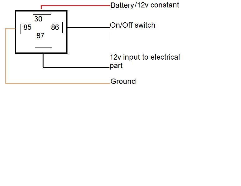 4 wire relay diagram 4 Wire Relay Wiring Diagram 4 wire relay wiring diagram 4 wire relay wiring diagram