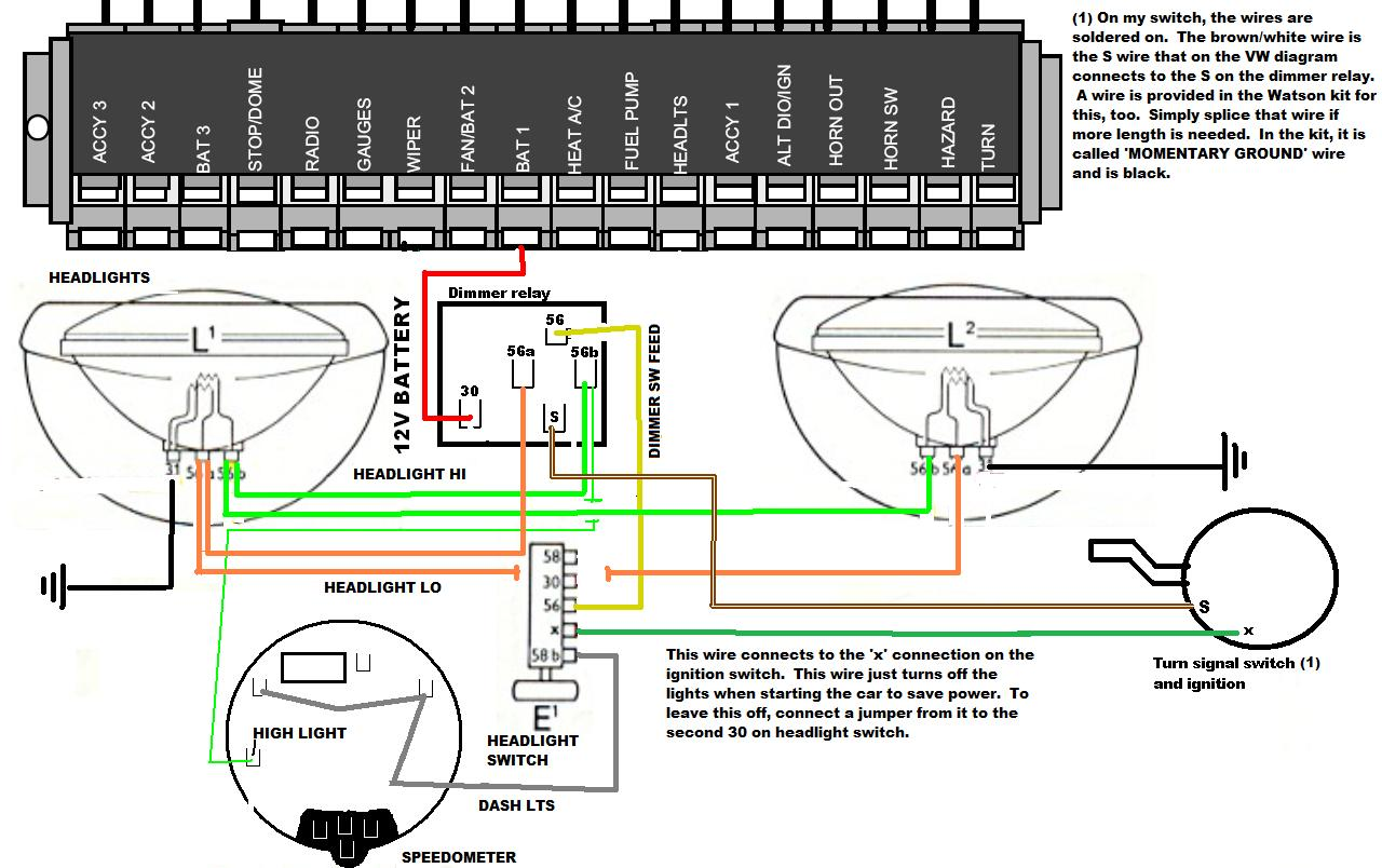 headlight wiring diagram renault master 2 356 relay dimmer switch