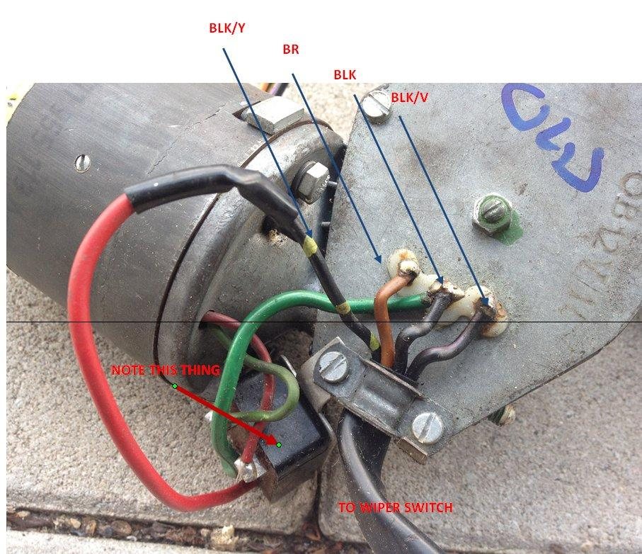 Chevy Wiper Motor Wiring Diagram View Diagram