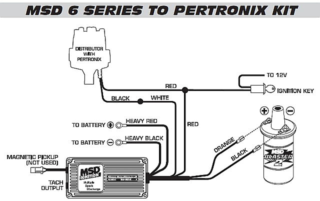 msd 6al wiring diagram for tach